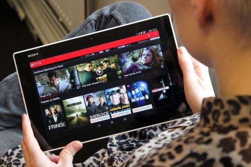 AVHENGIG AV NETT: For å se Netflix-innhold på farten må du også i framtida har nettilgang. Offline-støtte vil de nemlig ikke innføre.  Foto: OLE PETTER BAUGERØD STOKKE