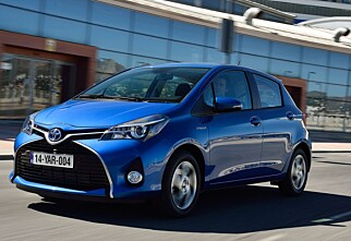 Prøvekjørt: Toyota Yaris facelift