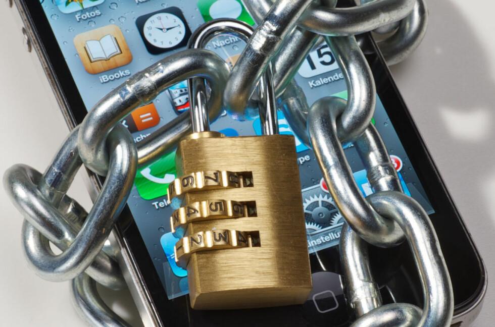 LÅST: Om operatøren din vil, kan de nekte telefonen din adgang til mobilnettet med en IMEI-sperring. Foto: ALL OVER PRESS