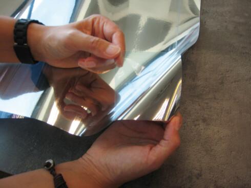HOLD VARMEN UTE: En varmereflekterende folie slipper inn lys men holder varmen ute.   Foto: IFI.NO