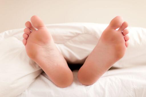HOLD DEM VARME: Kalde føtter kan faktisk heve kroppstemperaturen.   Foto: REX/Voisin/Phanie/All Over Press