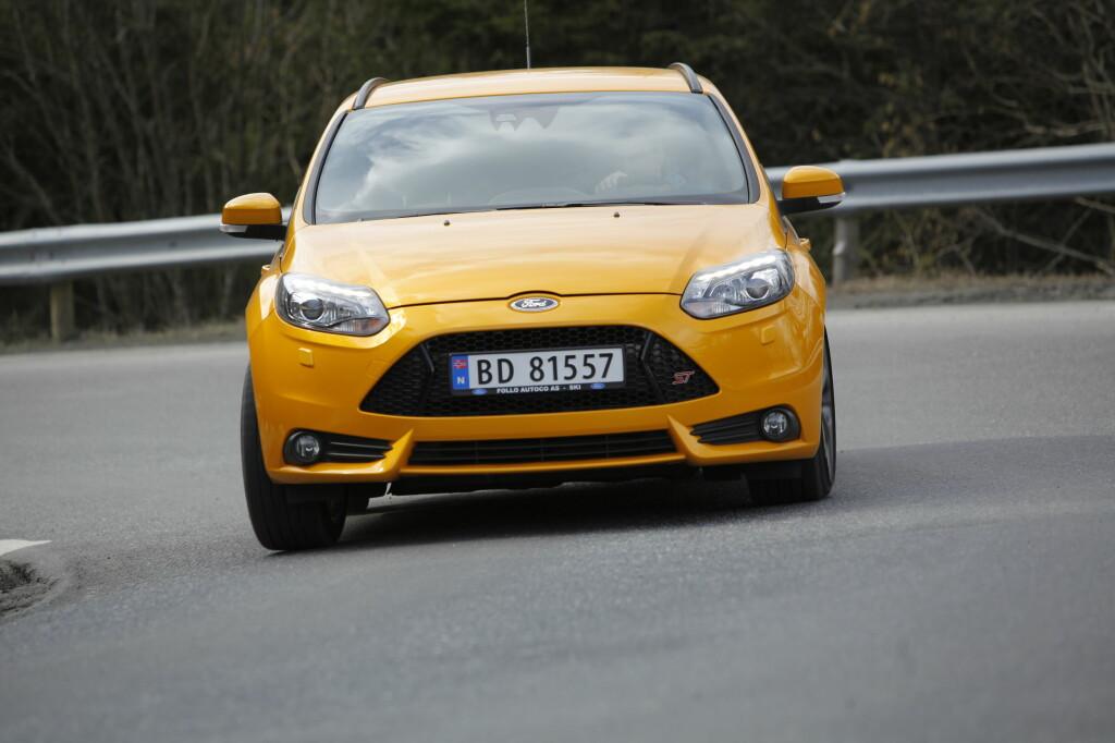ST-modellen innfrir når det gjelder kjøreegenskaper og kjøreglede. Foto: RUNE M. NESHEIM