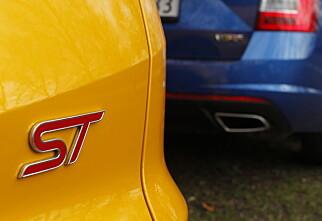 Ford Focus ST vs. Skoda Octavia VRS