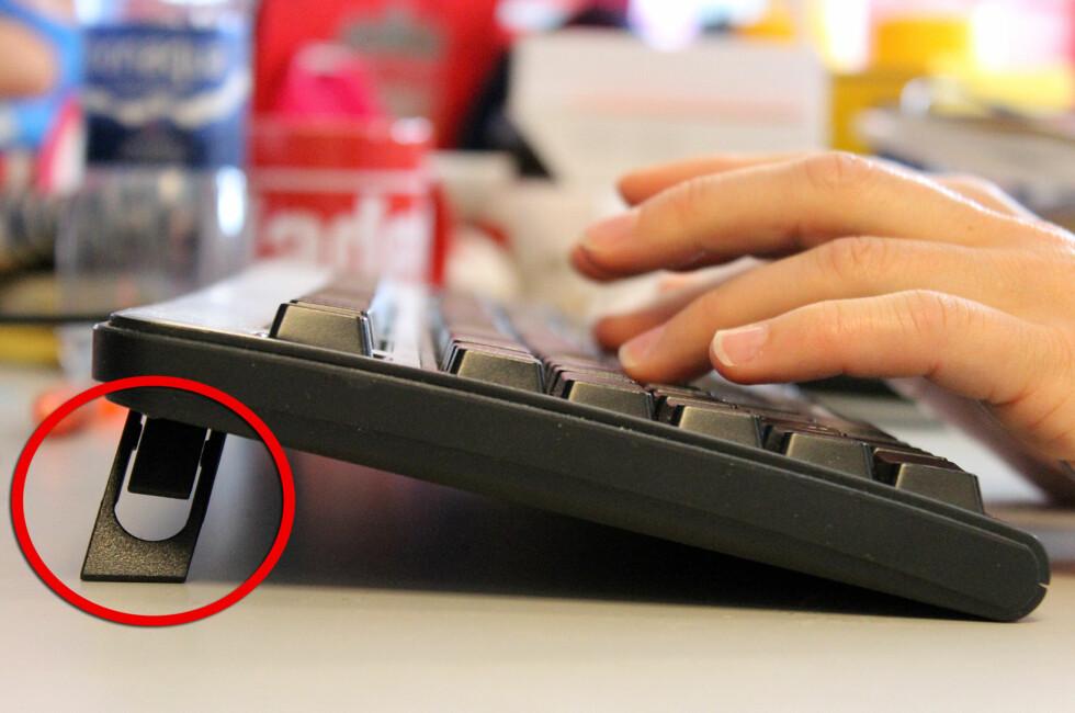 BRUKE FØTTENE? Ikke alle bør bruke tastatur-føttene. Foto: KIRSTI ØSTVANG