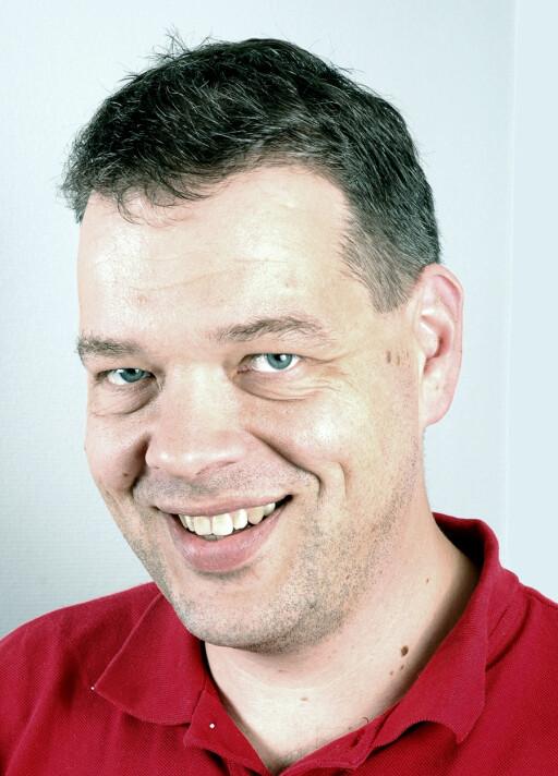 GIR DEG INGENTING: Kommunikasjonssjef Ole Irgens i Tryg minner om at gjenglemte gjenstander ikke erstattes.  Foto: TRYG