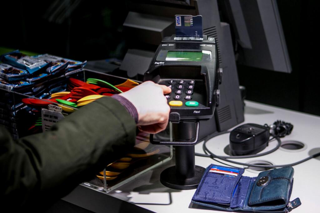 <b>GEBYR:</b> Bruk av kredittkort i Danmark fører til et ekstra gebyr. Foto: PER ERVLAND