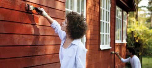 Det er ikke sikkert du trenger å male hele huset
