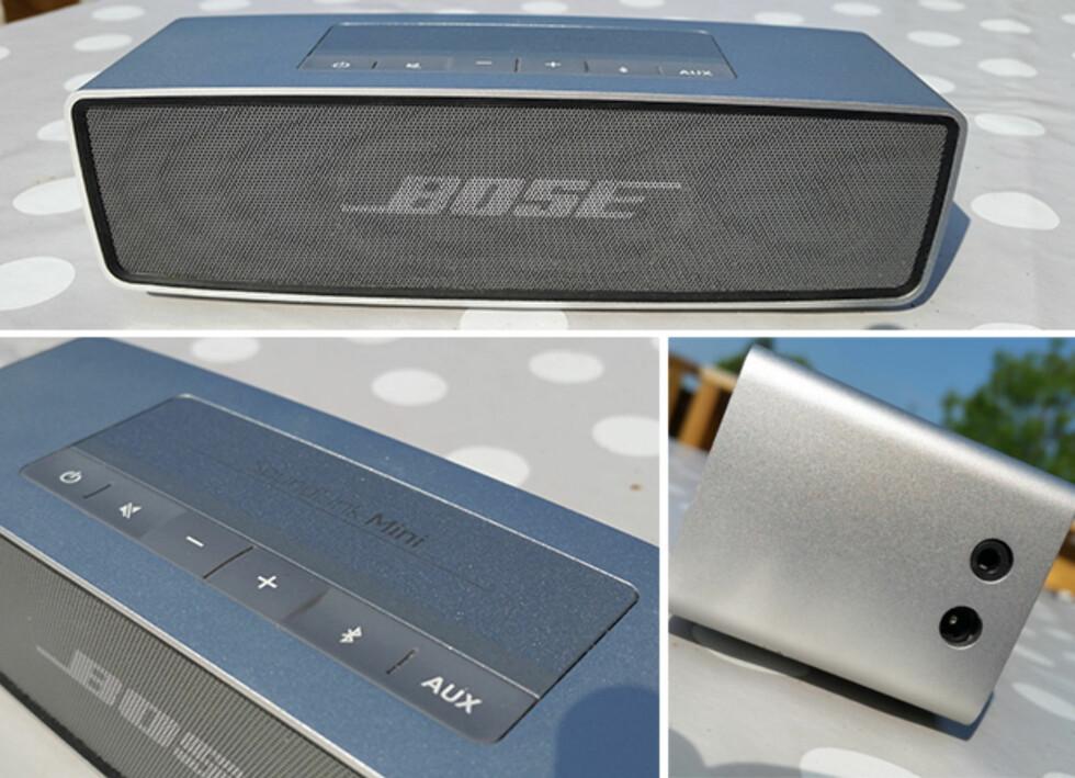 LITEN: Konstruksjonsmessig fremstår Bose SoundLink Mini svært velbygd. Foto: PÅL JOAKIM OLSEN