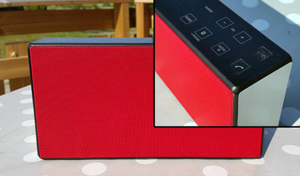 ELEGANT: Sony SRS-X5 har et elegant ytre. Foto: PÅL JOAKIM OLSEN
