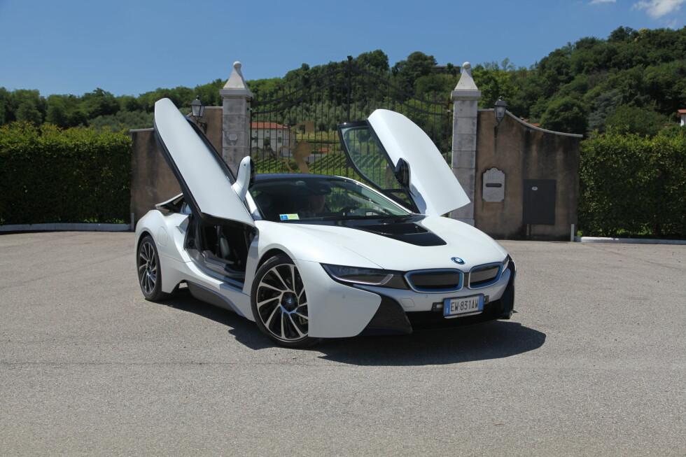 Sjelden har vel en BMW sett bedre ut enn dette? Foto: Knut Arne Marcussen
