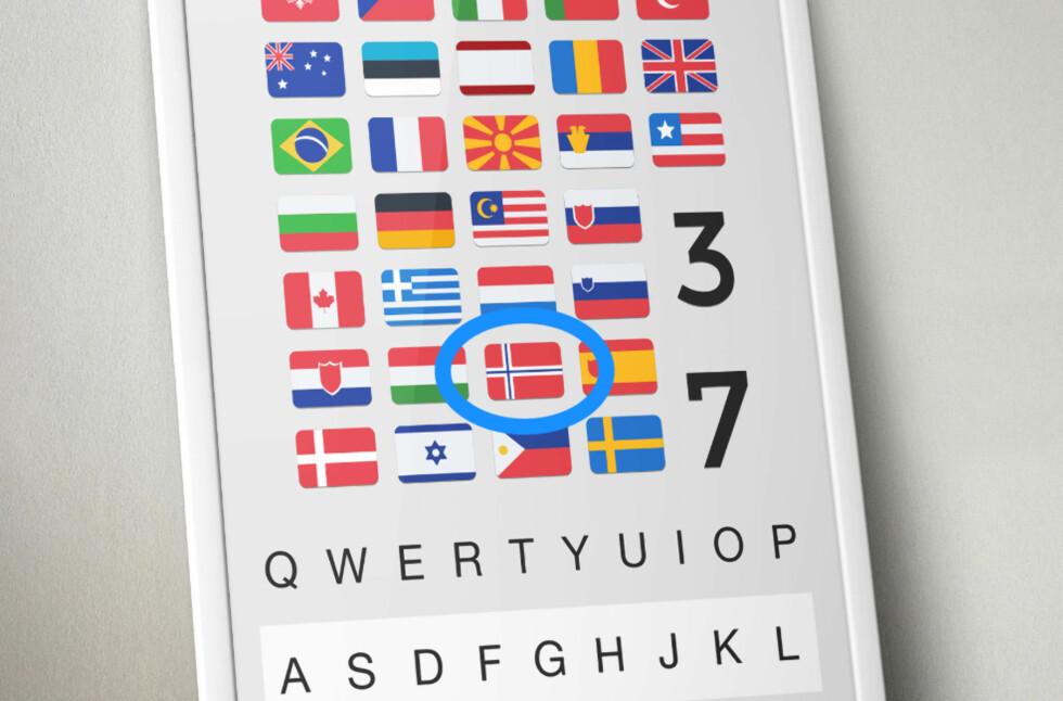 ENDELIG PÅ NORSK: Android-tastaturet Fleksy høster mange lovord og er fra i dag av tilgjengelig på norsk. Foto: FLEKSY