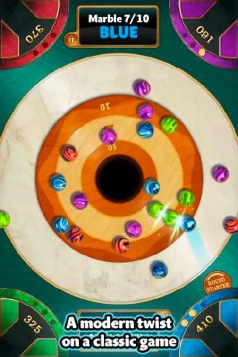 <strong><strong>KLINKIS:</strong></strong> Opp til fire kan spille Marble Mixer på én enhet.