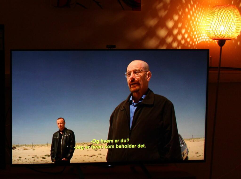 NETFLIX I 4K: TV-appen fra Netflix er viktig, fordi den gir deg House of Cards og Breaking Bad i 4K.  Foto: ØYVIND PAULSEN