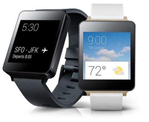 KAN BLI EN STOR GREIE: Produsentene har ikke fått til smartklokkene helt enda, med dårlige kritikker av anmelderne. Foto: LG.COM