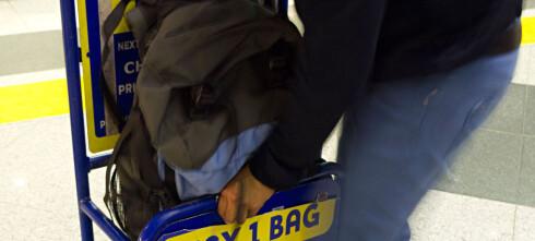 Kjempeforskjeller i tillatt håndbagasje