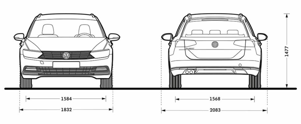 Her er den: Helt nye VW Passat