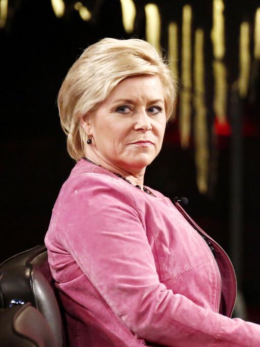 VALGFRIHET: FrPs Siv Jensen mener de nye kvotereglene skaper større valgfrihet for nordmenn på tur.  Foto: ALL OVER PRESS