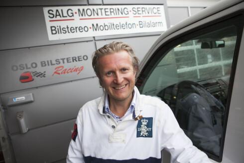 SATSER PÅ DAB: Hans Christian Andersen er overbevist om at den norske satsingen på DAB+ er riktig. Foto: PER ERVLAND