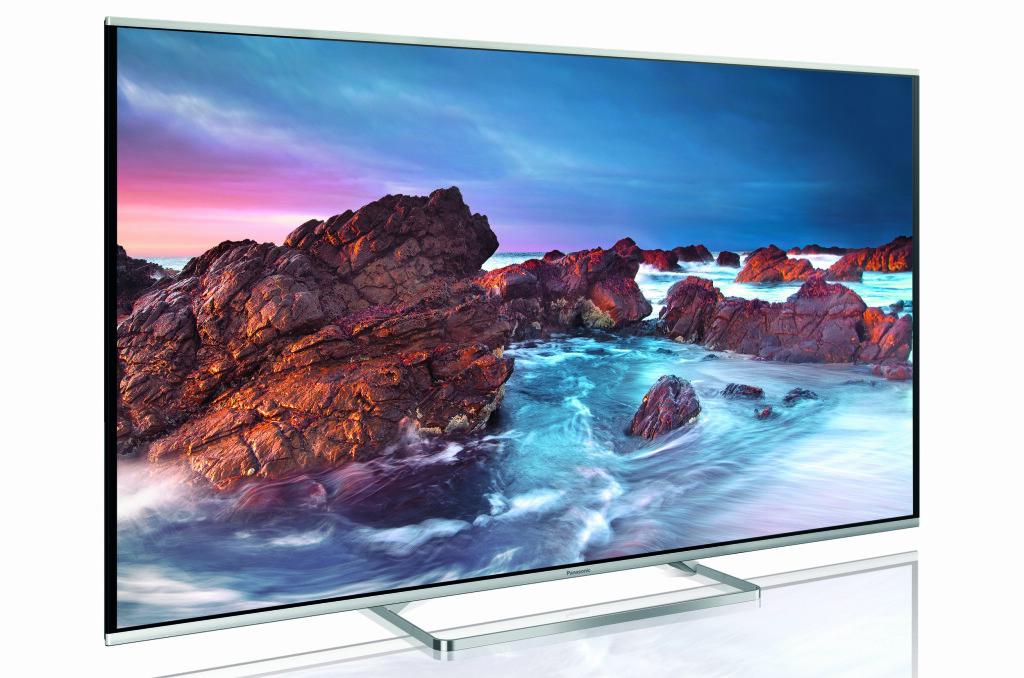 SLANK & ELEGANT: AS650 gjør seg bra, slik vi forventer av en klassisk kant-led-TV i dag. Foto: PANASONIC