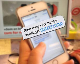 image: Ny SMS-svindel