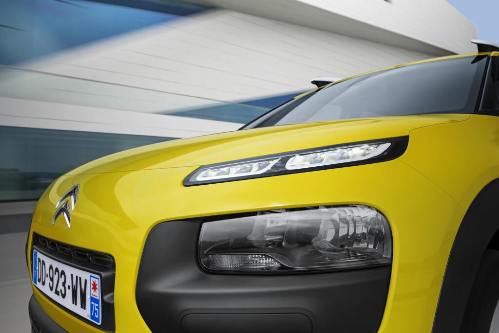 TØFT ELLER GALSKAP? Med slike detaljer tvinger Citroën oss bilinteresserte til å ta stilling til designet.  Foto: CITROËN