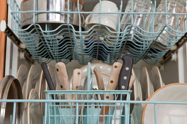 image: Hvilken vei skal bestikket stå i oppvaskmaskinen?