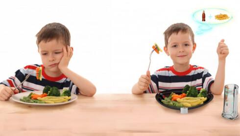 UTSEENDE BEDRAR Er det en god idé å la grønnsaker smake av «junk food»? Diskuter lenger ned på siden.  Foto: Electrolux Design Lab