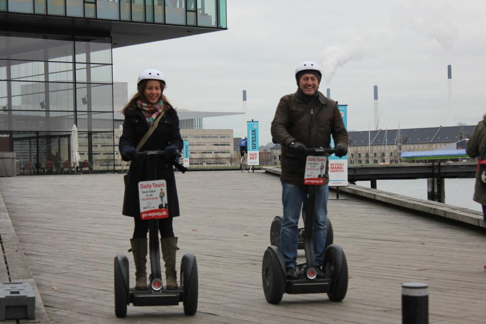 GLEDE: Selvbalanserende kjøretøy vil være til glede og nytte for mange, sier FrPs Bård Hoksrud.  Foto: Kristin Sørdal