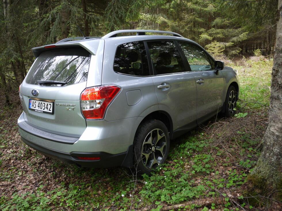 ORDENTLIG SUV: For mange representerer Forester en ordentlig SUV, og den selger nok endel på det. Foto: LORD ARNSTEIN LANDSEM