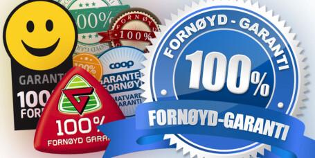 Må følge sine egne 100 prosent fornøyd-garantier