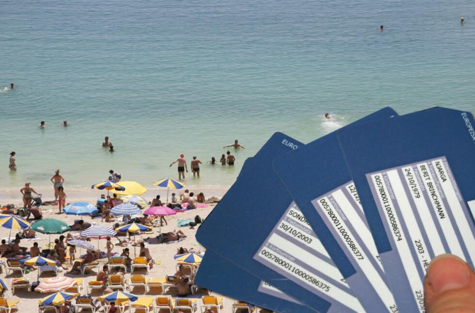 Husk helsetrygdkort til ferien