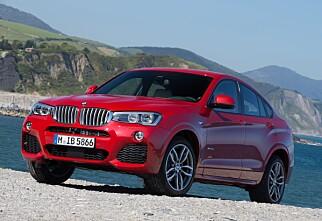 Er BMW X4 bedre enn X3?