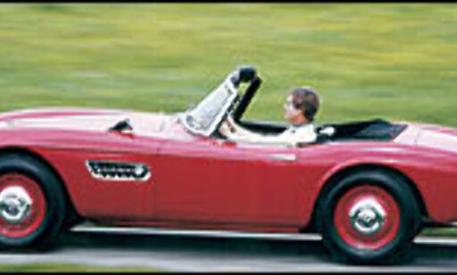 1956: BMW 507