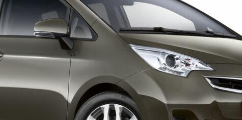 image: Toyota fornyer Verso S