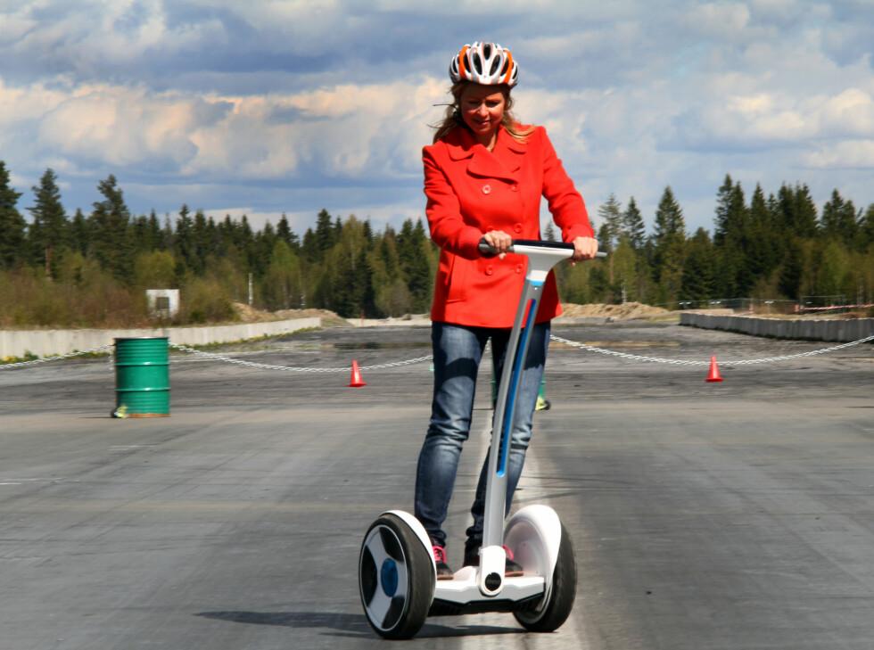 SVINGER LETT: Den er lett å svinge med, og du kan snu på femøringen, men pass på så du ikke svinger for brått i høye hastigheter. Foto: FRED MAGNE SKILLEBÆK
