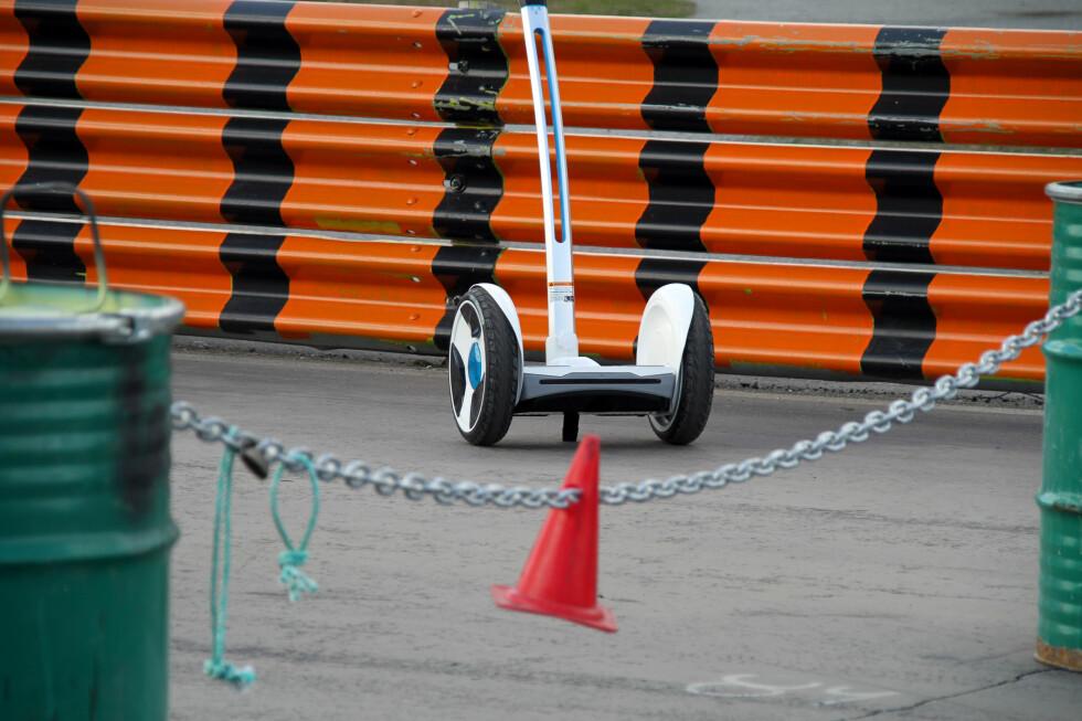 LUKKET BANE: Vi testet Nineboten på lukkede områder.  Foto: FRED MAGNE SKILLEBÆK