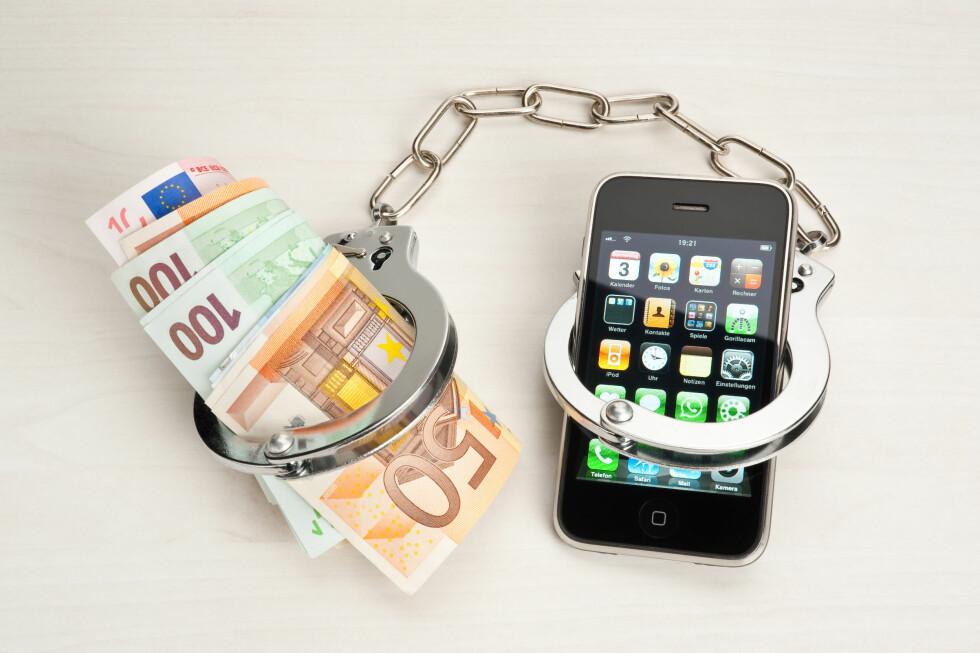 GISSEL: Hackere tar nå Apple-enheter som gisler inntil offeret betaler løsepenger. Foto: ALL OVER PRESS
