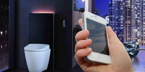 image: Snart kan du styre toalettet med mobilen