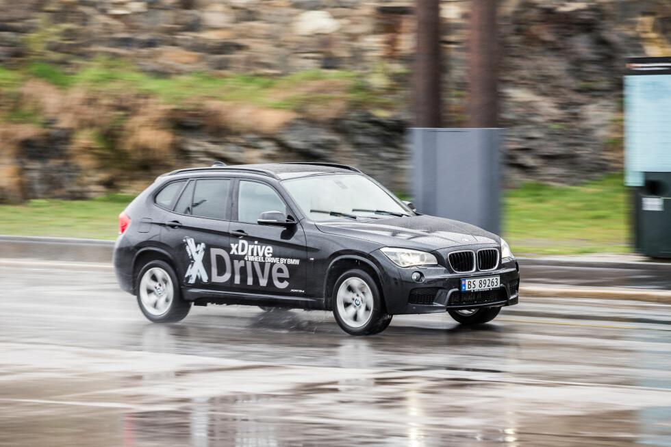 <strong><B>KJENT SYN:</strong> </B>BMW X1 har vært med noen år. Men den holder fortsatt koken.