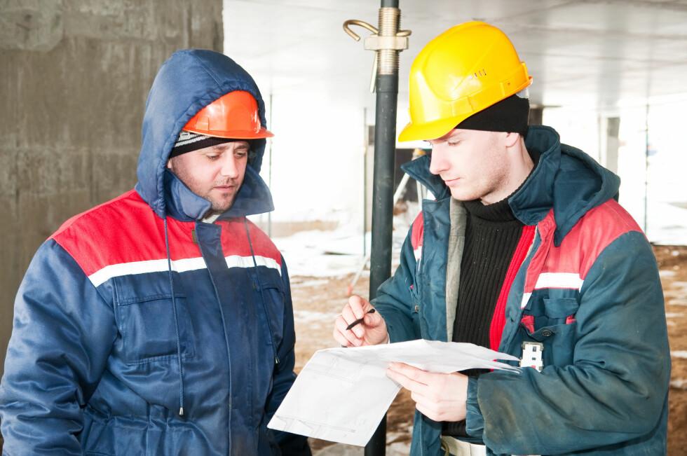LEDIGHET: Både NAV og DNBs Kjersti Haugland tror det blir økt ledighet blant bygningsarbeidere. Foto: COLOURBOX.COM