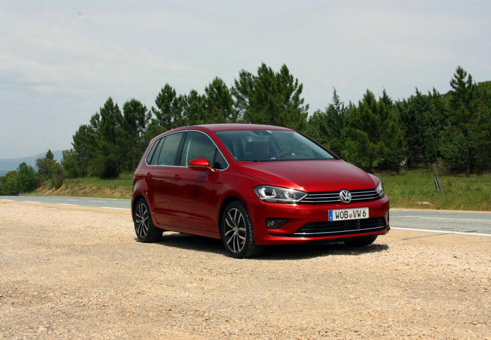 EN ENDA BEDRE GOLF: VW har tatt det som var bra fra Golf Plus og fjernet det som var mindre bra. Resultat: Den beste kompaktbilen i dag. Foto: KNUT MOBERG