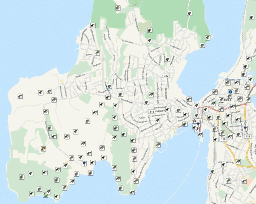 Bare på Jeløya utenfor Moss finnes dusinvis av skatter