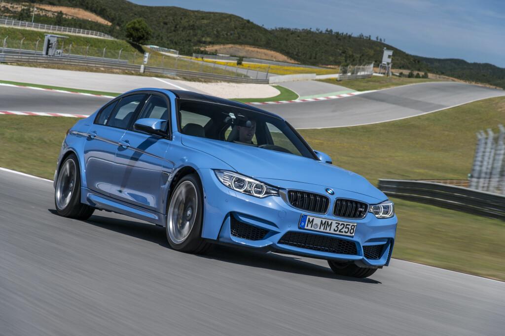 TO TYPER: M3 blir nå kun sedan, mens M4 blir Coupé. Foto: BMW Foto: BMW