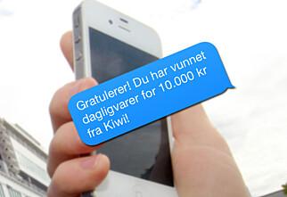 Advarer mot svindelforsøk på SMS og e-post