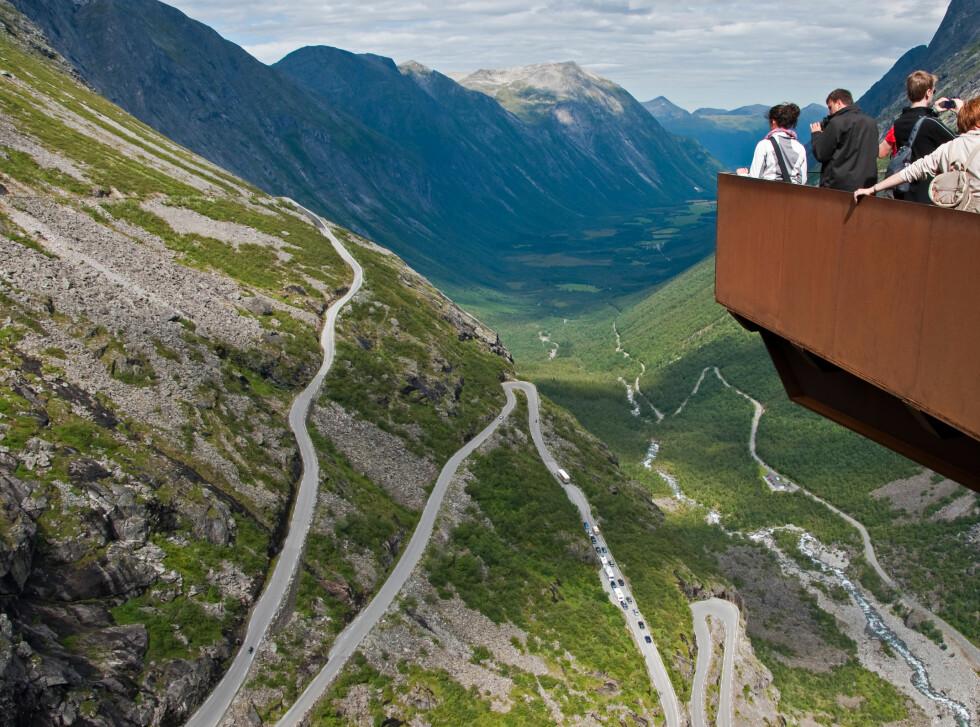 Trollstigplatået i Møre og Romsdal.  Foto: ALLOVER