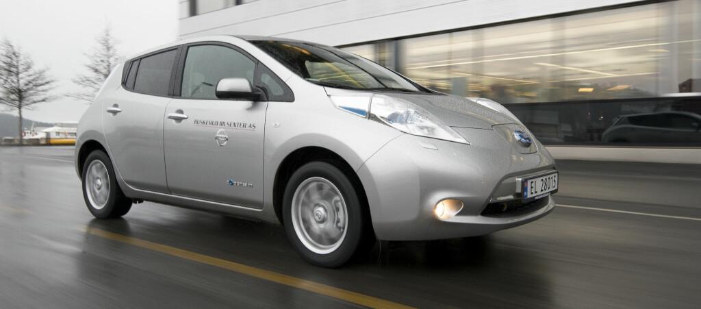 <b>TRYGGERE KJØP:</b> Nissan gir garanti for restverdien dersom du velger deres finansieringsmodell.Foto: JAMIESON POTHECARY/AUTOFIL.NO