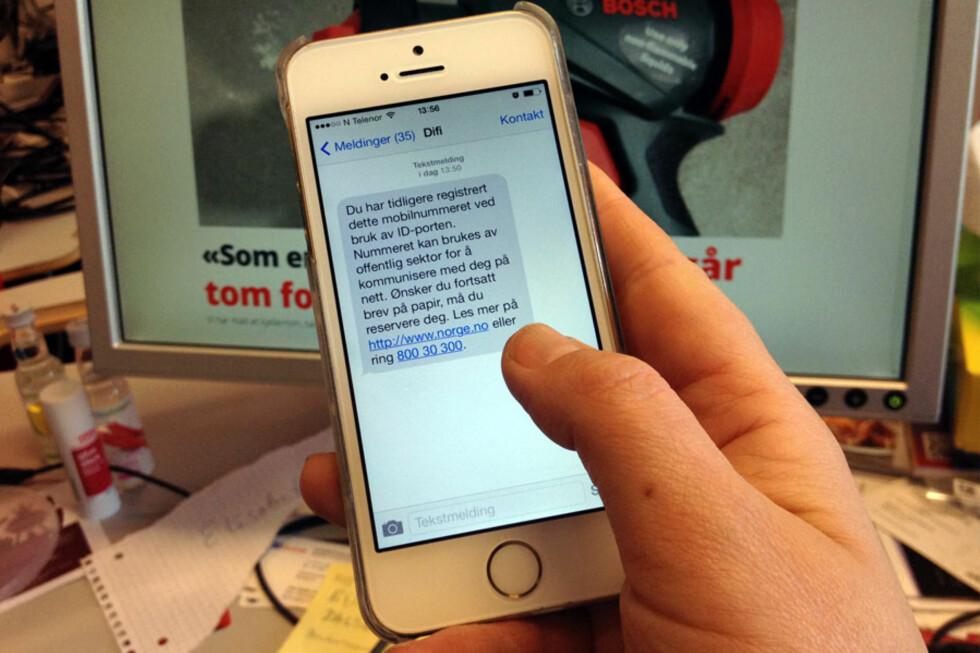 NETTBRUKER? Vil du fortsatt motta informasjon fra offentlige virksomheter på papir, må du reservere deg mot å bli digital bruker. Foto: BERIT B. NJARGA