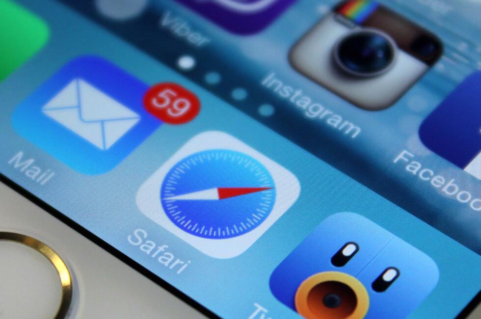 HVOR MYE KAN DU? Selv om du bruker Safari ofte på din iPhone eller iPad, hvor mange av funksjonene kjenner du egentlig til? Foto: KIRSTI ØSTVANG