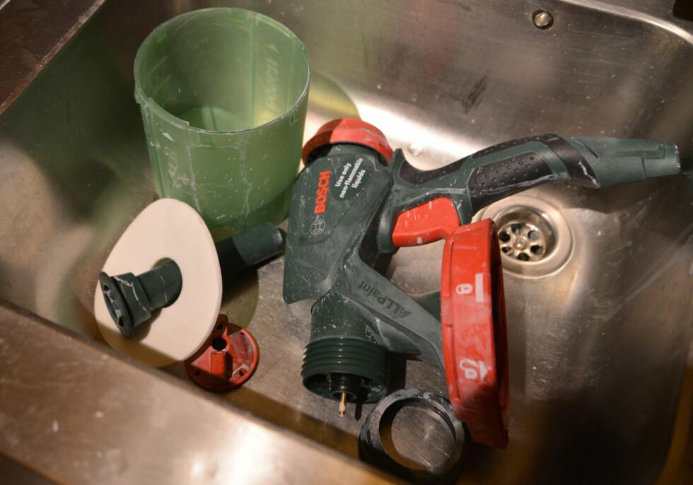 HUSK: Grundig rengjøring må til etter bruk. Foto: BRYNJULF BLIX