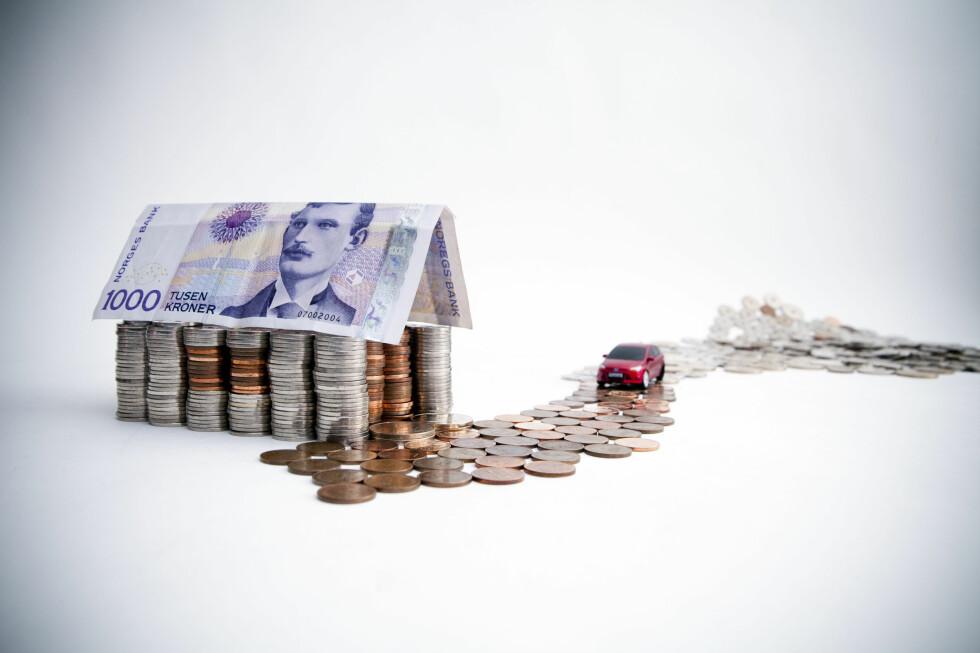 RENTEJUSTERING: Du kan få lavere rente på boliglånet om du bytter bank, eller har mulighet til å refinansiere lånet i egen bank. Foto: PER ERVLAND